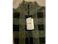 Balenciaga Mens zipped cardigan (XL) (never worn)