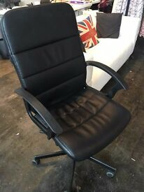Black Office chair / IKEA - buy all 4 for £80