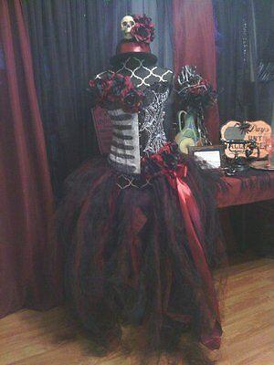 DIA DE LOS MUERTOS,Day of the dead, Halloween costume, glow in dark accents S- L (Glow Dark Halloween Costumes)