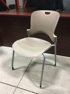 Herman Miller Caper Guest Chairs - Armless