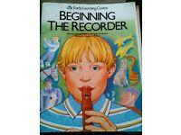 Beginning the Recorder £0.50p