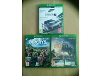 Xbox one games forza 7 assassin's creed origins, far cry 5