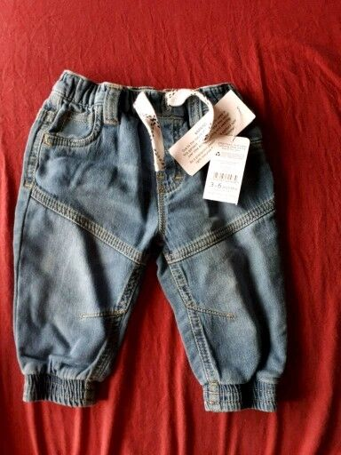 Brand new baby jeans from 3-6 months