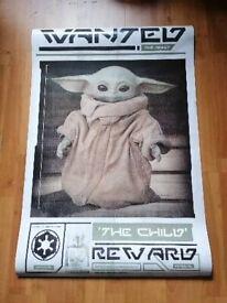 Star Wars Wall Posters x 2