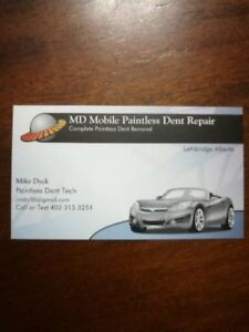 Automotive Paintless Dent Removal