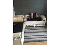 Moroccan Richbond corner sofa with large storage