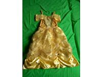 Disney Belle costume for 3-4 years.
