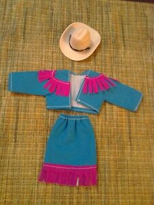 Barbie Cowgirl Outfit