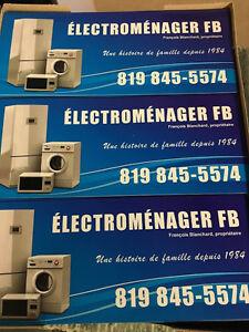 Électroménagers a partir de 75$