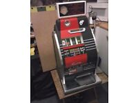 ONE ARM /ARMED BANDIT COIN MACHINES ,SLOT MACHINES, ANY CONDITION OR PARTS
