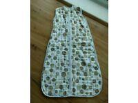 Slumbersac Baby Sleeping Bag Unused 2 tog 6-18 months