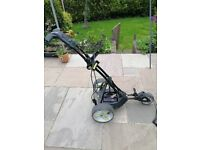 MOTOCADDY ELECTRIC GOLF TROLLEY WITH LITHIUM BATTERY