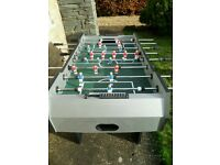 Full size 4' Folding football table