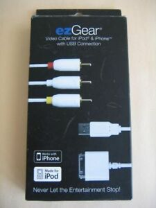 EzGear Video Cable for iPod