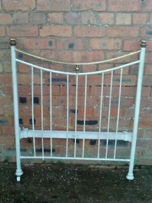 Victorian Bed Ends Head and Foot Missing runners French ? Delivery available