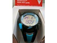 Speedo aqua coach swimming watch