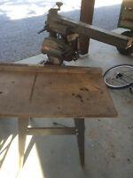 "9"" craftsman radial arm saw with stand"