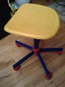 SHOP TOOLS SPINNING CHAIR WITH WHEELS