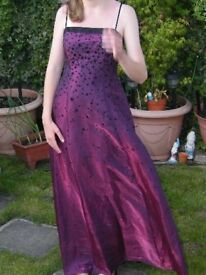morgan & co dress size 8