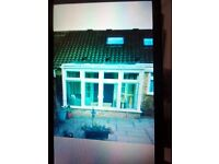 conservatory 3m-2.5m dismantled £500 ono