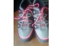 F+F Active Walking/Hiking Shoes/Trainers,size 9.