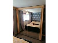 Wardrobe large double mirror