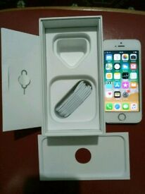 Iphone 5s 16gb unlocked white n gold