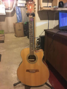Ibanez electric acoustic (AEL 40SE RLV)