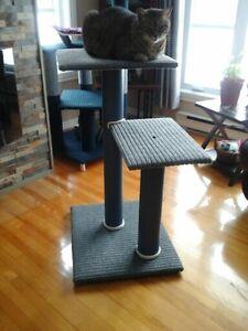 (chat)Je fabrique des arbres a chats , maison et lit (perchoir)