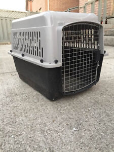 Dog Crate for puppies and small dogs.