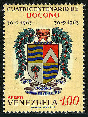 Venezuela C828, MNH. Arms of Bosono, 1963