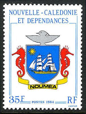 New Caledonia 500, MNH. Arms of Noumea, 1984