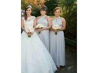 2x bridemaid dresses