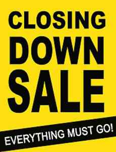 Closing Out Sale @ MACINI FURNISHINGS