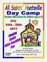 VACATION BIBLE SCHOOL - Day Camp for Children