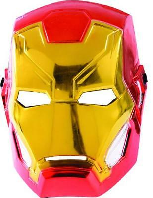 Kinder Iron Man Maske (Iron Man Avengers Assemble Maske - Child MARVEL Kinder Maske Superheld Karneval)