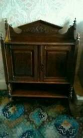 Victorian Hanging Wall Cabinet