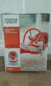 Mama's and papa's vibrate and sound bouncer