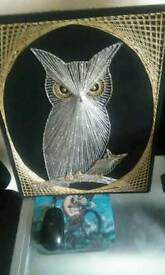 Old owl picture