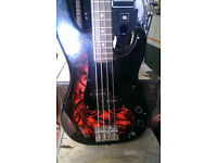 Jaxville Demon Bass Guitar