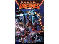 Marvel Graphic Novels - SECRET WARS - 1984 and 2015 Versions
