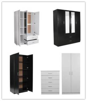 Brand new free-standing wardrobes CLEARANCE SALE!