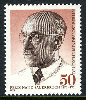 Germany-Berlin 9N379, MNH. Ferdinand Sauerbruch, surgeon, 1975