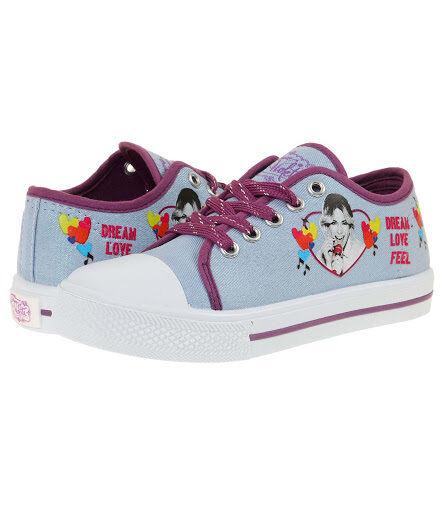 Neu Sneaker Sportschuhe Mädchen Schuhe Disney Violetta türkis Halbschuhe 29-34