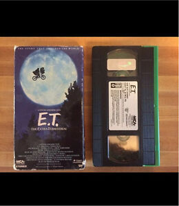 E.T. The Extra-Terrestrial Collectors Edition VHS