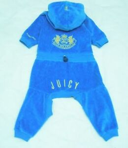 Juicy Couture Ensemble Chien Bleu Medium