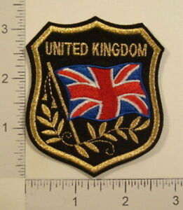 UNITED-KINGDOM-Great-Britain-FLAG-Shield-Souvenir-PATCH