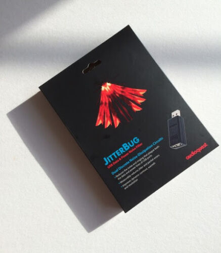 AudioQuest Jitterbug USB Filter with Dual Line-Conditioning Circuitry Brand New