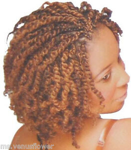 Kanekalon Afro Kinky Bulk Hair Extension - Twist/Braids Dreadlocks 12