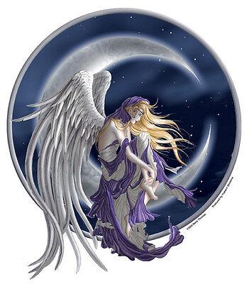 LARGE MOON DREAMER Fairy Sticker Car Decal Nene Thomas faery faerie